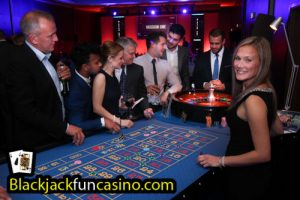 Fun at the roulette table