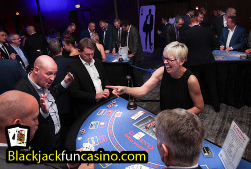 Charity Fun Casino Hire Fundraising for Good Causes