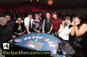 Fun at the blackjack table