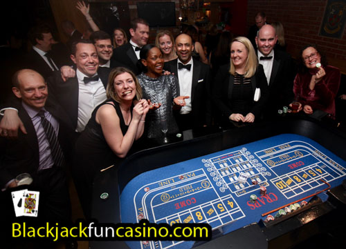 Christmas Party Fun Casino Hire