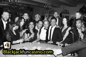 Great fun at the casino table