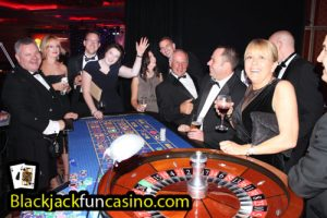 Fun at the casino table