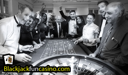 Roulette table fun with Blackjack Fun Casino