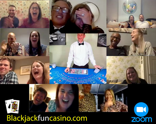 Virtual Blackjack Party