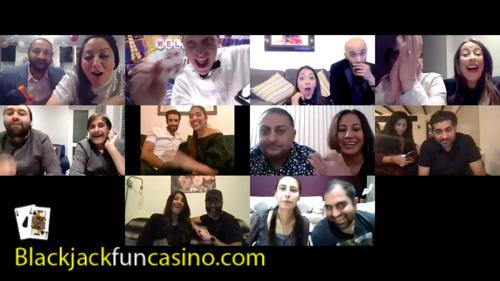 Zoom casino birthday party